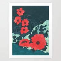 ruby Art Prints featuring Ruby by Tracie Andrews