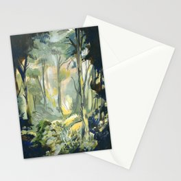 Deep in the forest Stationery Cards