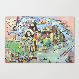 Urban Bubble Canvas Print
