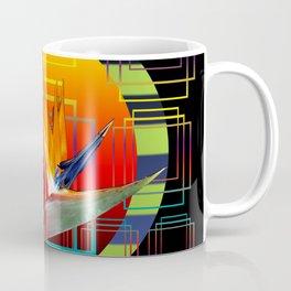 Bird of Paradise flower by sunset Coffee Mug