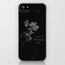 Missable  iPhone Case