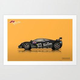 McLaren F1 GTR #01R - 1995 Le Mans Winner Art Print
