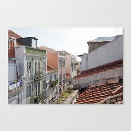 The Alfama, Lisbon Canvas Print