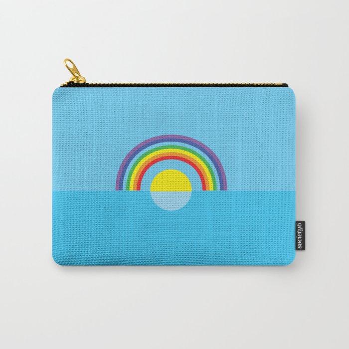 sunny rainbow Carry-All Pouch