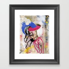 Soup Framed Art Print
