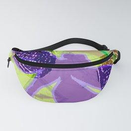 Purple Dragonfly Dreaming Fanny Pack