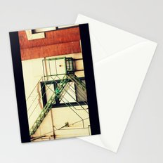 Fire Escape Chicago Stationery Cards
