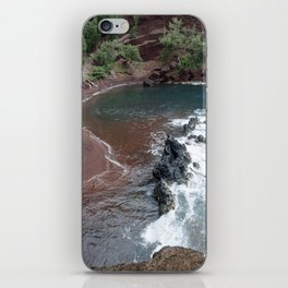 red sand beach iPhone Skin