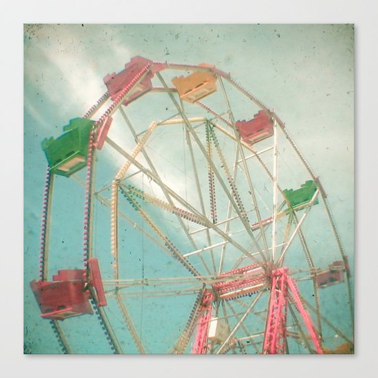 Big Wheel II Canvas Print