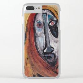 Virgen negra Clear iPhone Case