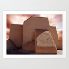 Southwest Adobe Art Print