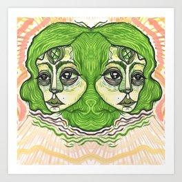 visceral vibrations Art Print