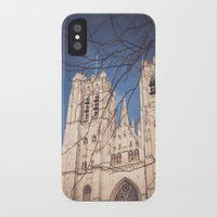 brussels iPhone & iPod Cases featuring Brussels Cathedral by Ghdv Grafias