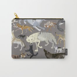 Wolves of the world poster Carry-All Pouch