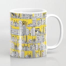 New York yellow Coffee Mug