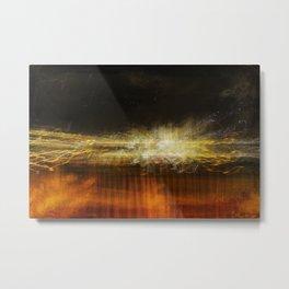 Sedona fire Metal Print