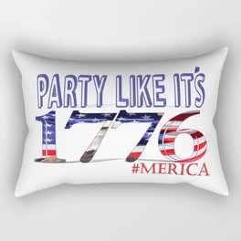 party like it's 1776 Rectangular Pillow