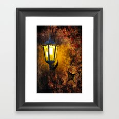 Grunge Old Wall Framed Art Print
