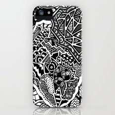 Lacking White iPhone (5, 5s) Slim Case