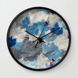 Abstract muse 2 Wall Clock