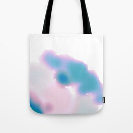 Yosemite watercolor blues Tote Bag