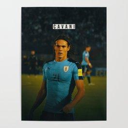 Edison Cavani Poster