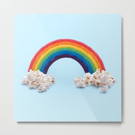 CANDY RAINBOW Metal Print