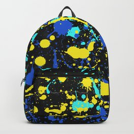 Abstract Creative Splashes Backpack