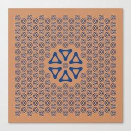 Hexagonal Point Canvas Print