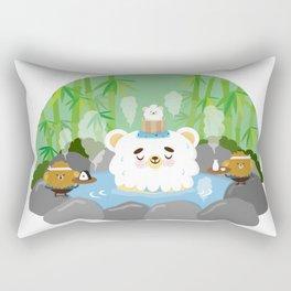 ollaお湯 Rectangular Pillow