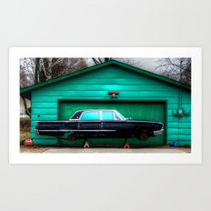 'Galaxy Garage' Art Print