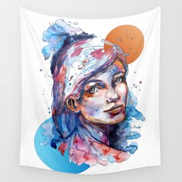 Sophia by carographic Wall Tapestry