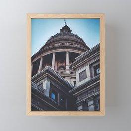 Capitol Building / Austin, Texas Framed Mini Art Print