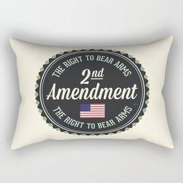 Second Amendment Rectangular Pillow