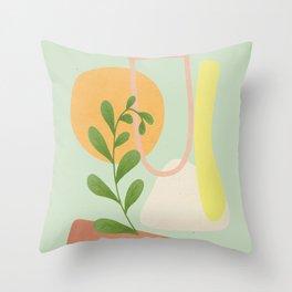 Partially Abstract 4 Throw Pillow
