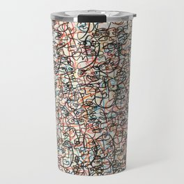 Color Coded Travel Mug