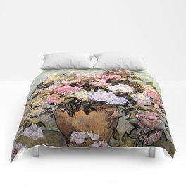 Vincent Van Gogh Vase With Roses Comforters