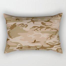 Desert Camo Rectangular Pillow