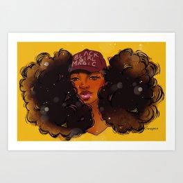 Black Girl Magic Tamron Art Print