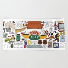 Collage Beach Towel