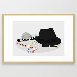 2010: Spy Framed Art Print