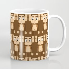 Super cute animals - Cheeky Brown Monkey Coffee Mug