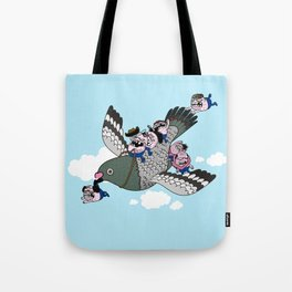 It is Time to Fly Tote Bag