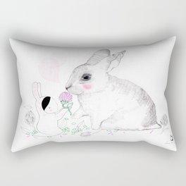 The Rabbit Rectangular Pillow