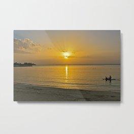 Jamaican Sunset Metal Print