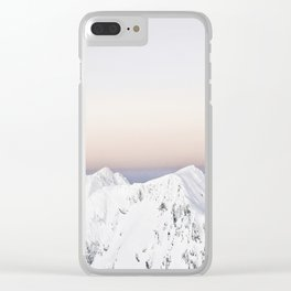 Touching the Sky Clear iPhone Case