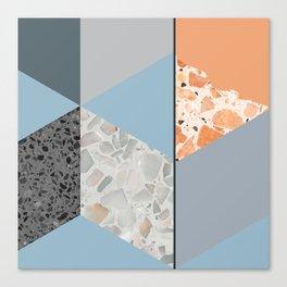 Terazzo Tiles Canvas Print