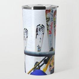 Ski All Day Travel Mug