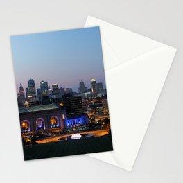 Kansas City Night Stationery Cards