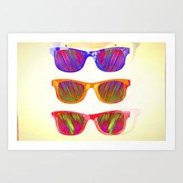 Sunglasses In Paradise Art Print